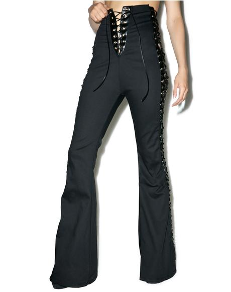 Vintage Deadstock The Ties That Bind Flare Jeans