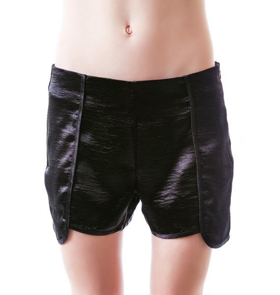 Dark Daze Satin Shorts