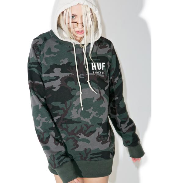 HUF Basic Training Crewneck