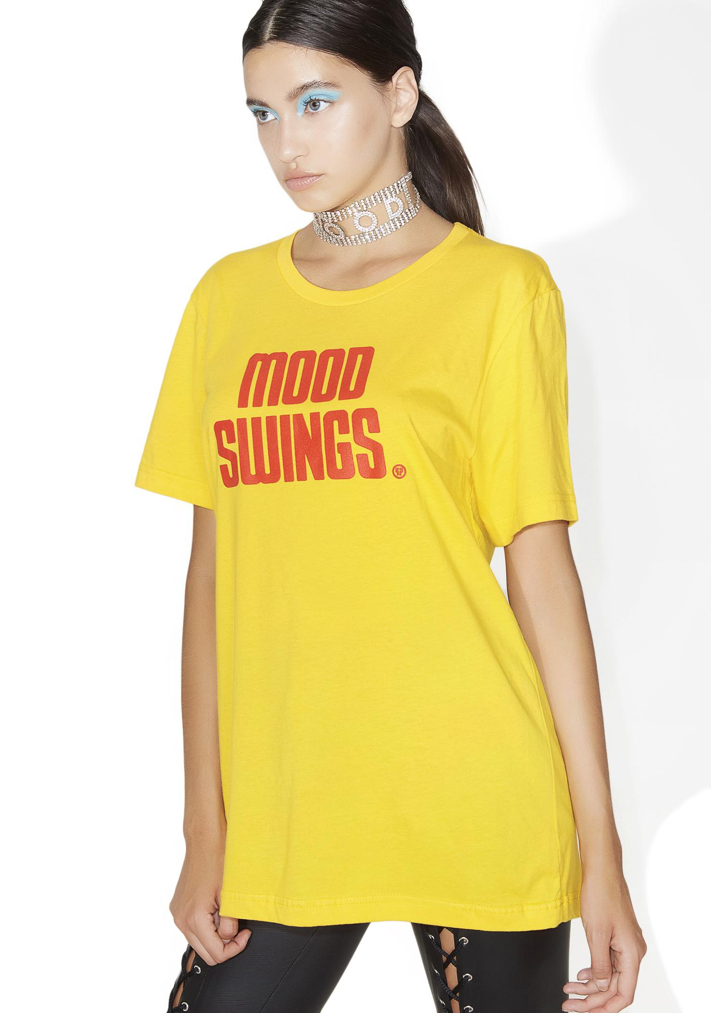 Petals and Peacocks Mood Swings Record Tee