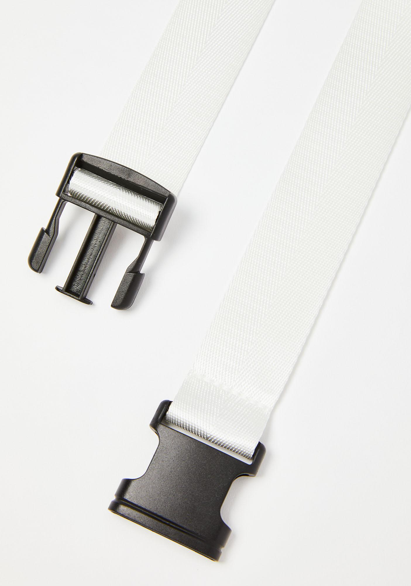 Icy Get Checked Buckle Belt