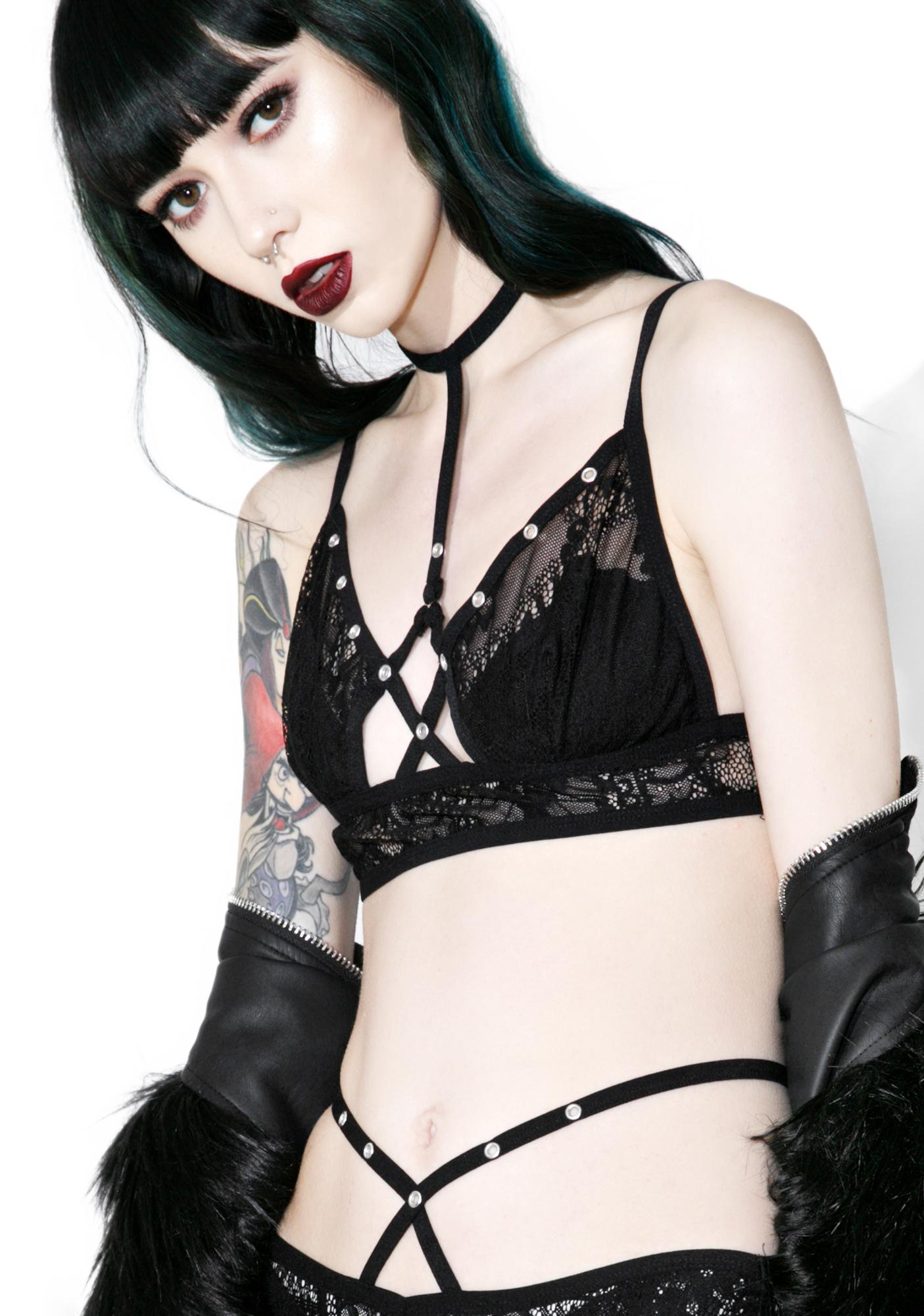 Killstar Bella Morte Parisian Bralette