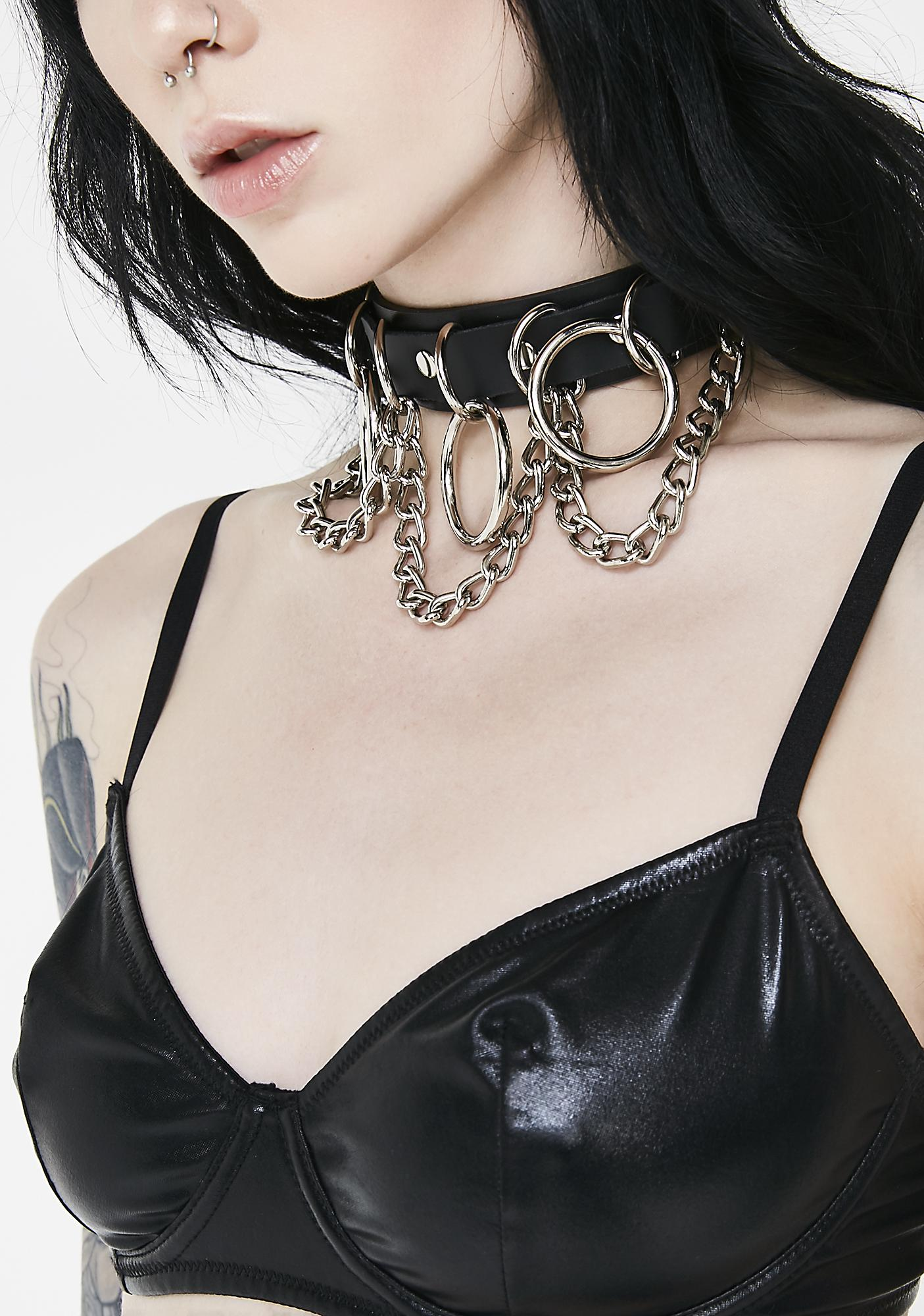 Funk Plus Mz. Master O-Ring Choker