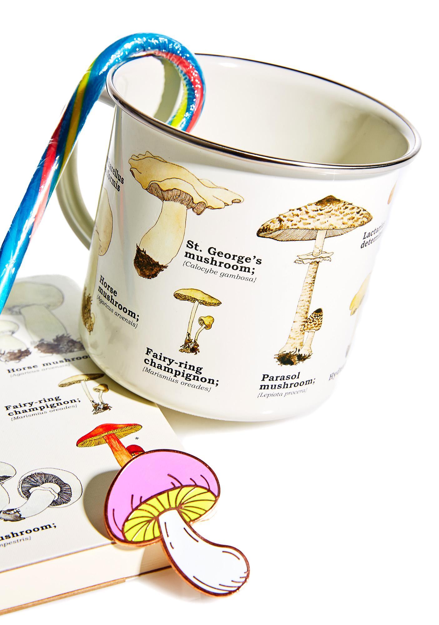 Shroomin' Tin Mug