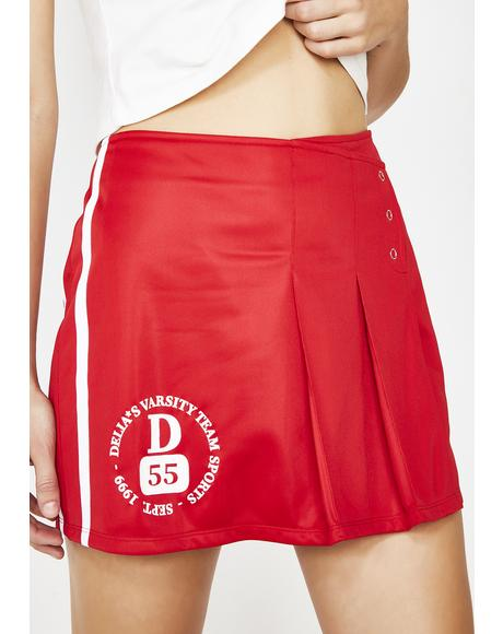 Cheer Captain Mini Skirt