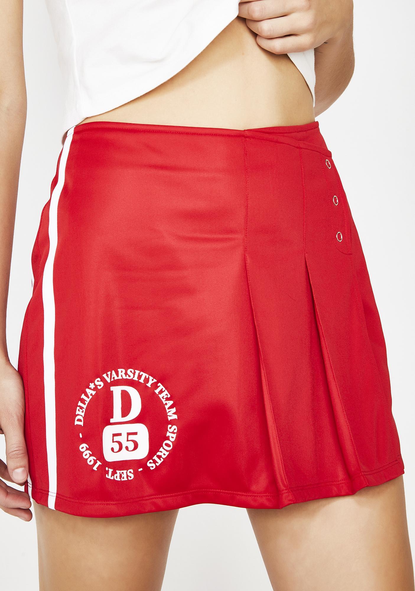 dELiA*s by Dolls Kill Cheer Captain Mini Skirt