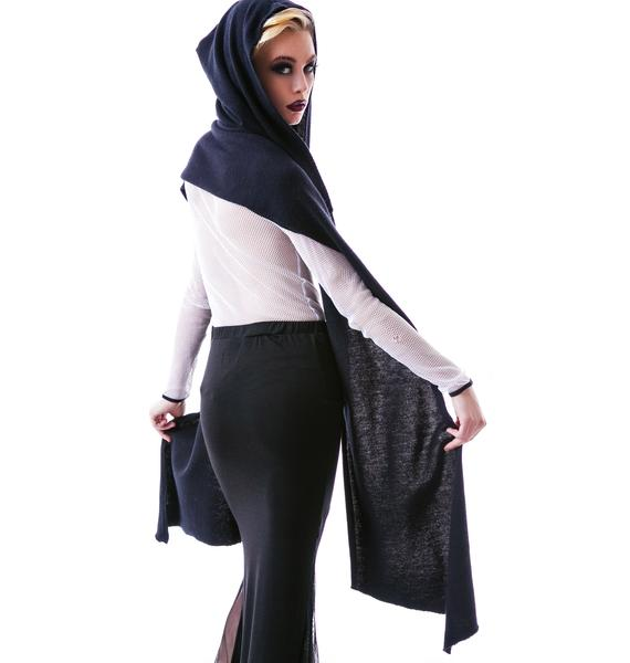 Widow Hooded Scarf