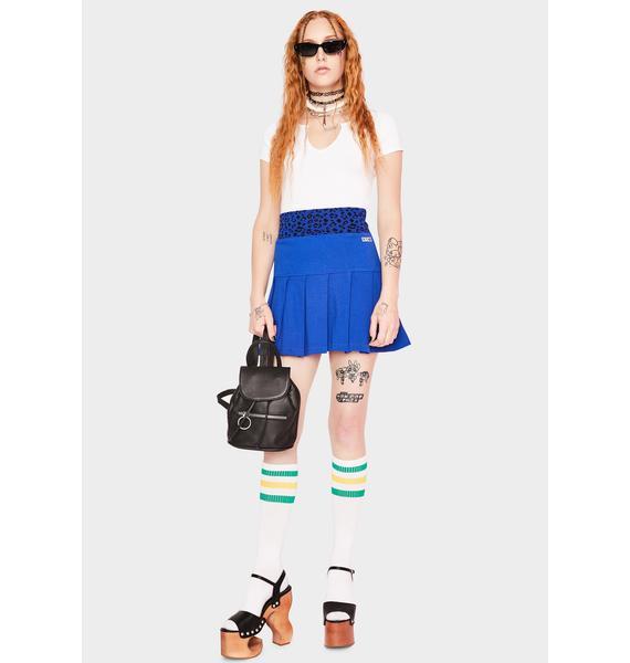 Obey Liana Pleated Skirt