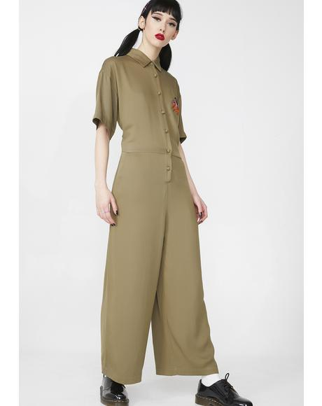Nowhere Tiger Jumpsuit
