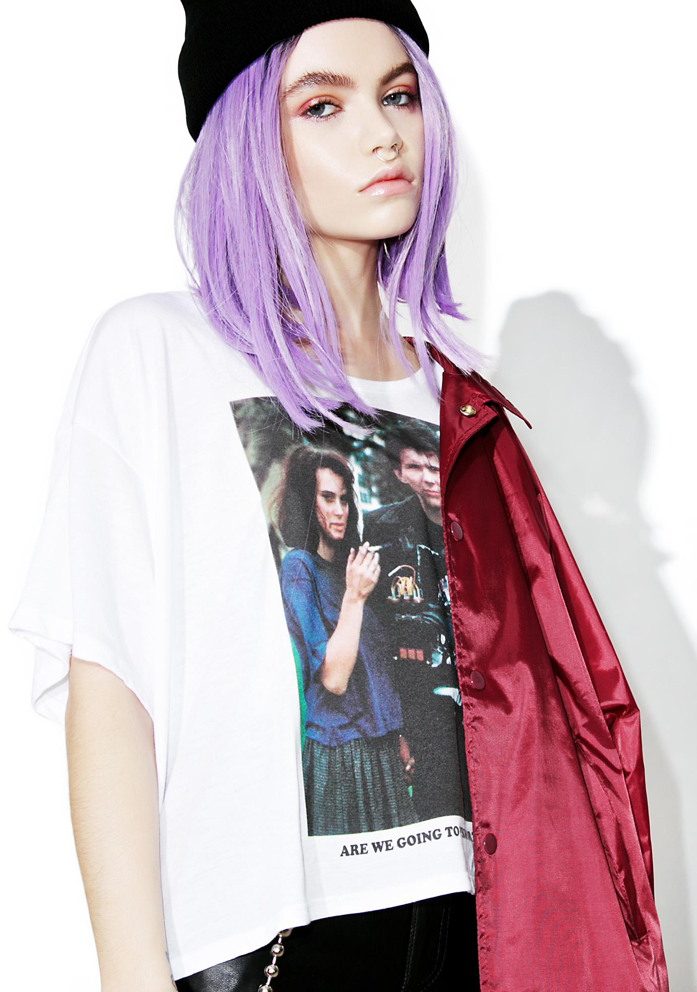 Creep Street Veronica & JD Loose Boxy Tee