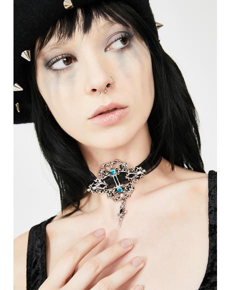 Dark Opulence Jewel Choker