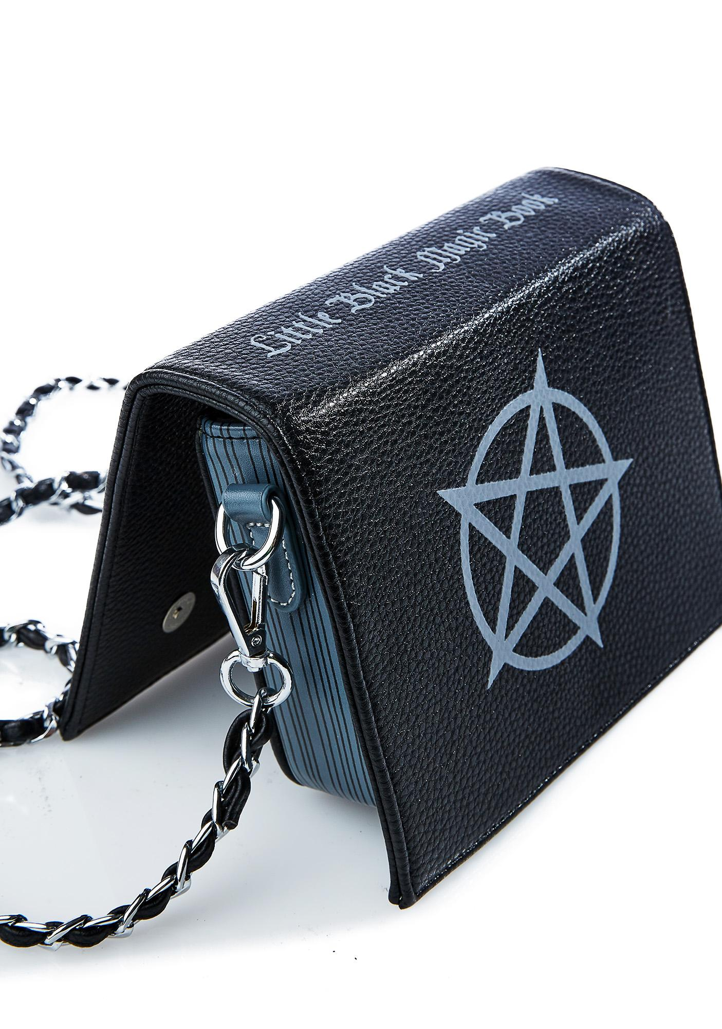 Current Mood Little Black Magic Book Bag | Dolls Kill