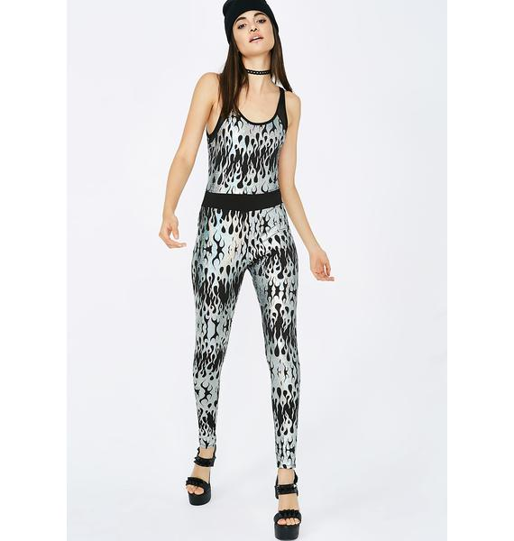 Self Destruction Flame Jumpsuit