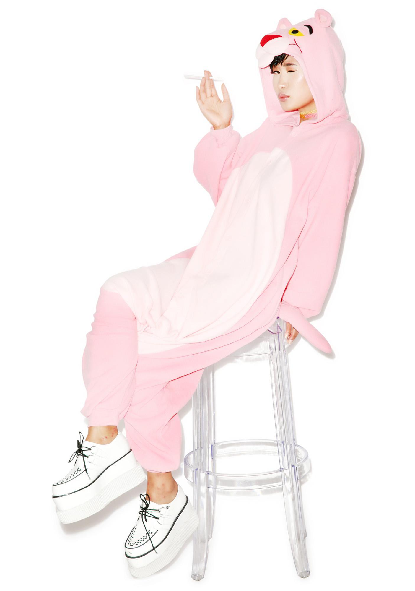 Sazac Costumes  CAP Pink Panther japan