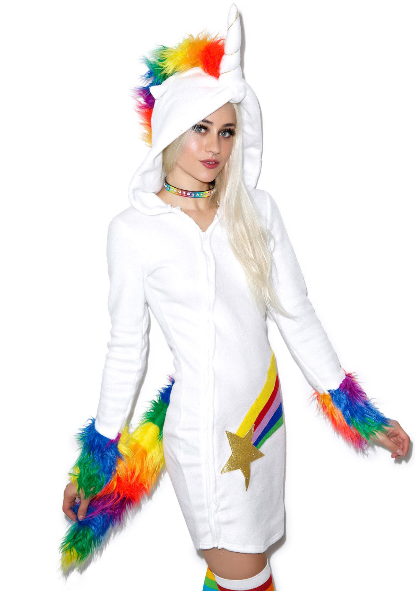 Unicorn Cuddles Costume