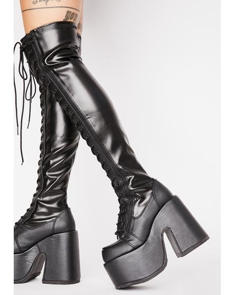 Rave Royalty Thigh High Boots