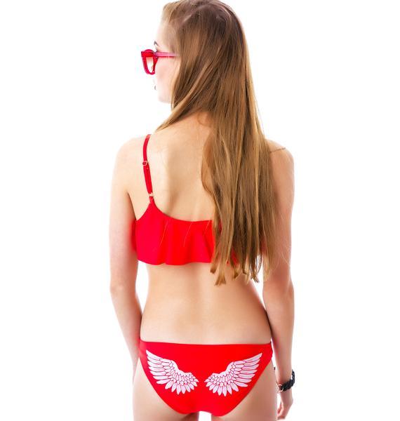 Wildfox Couture Angel Wings Bikini Bottom