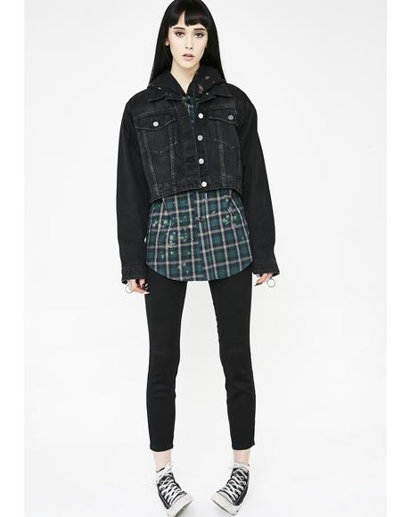 Crop N' Block Jacket