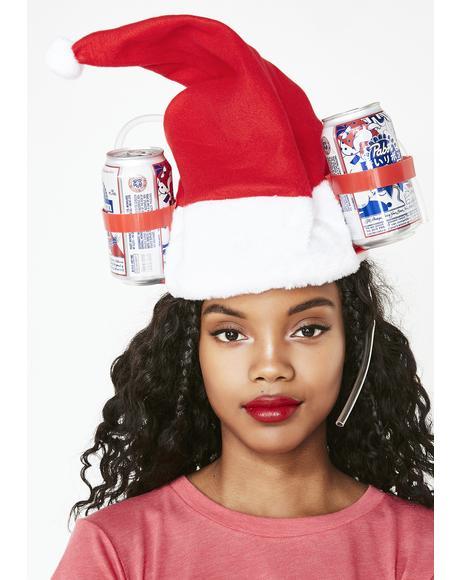 Badd Santa Drinking Hat