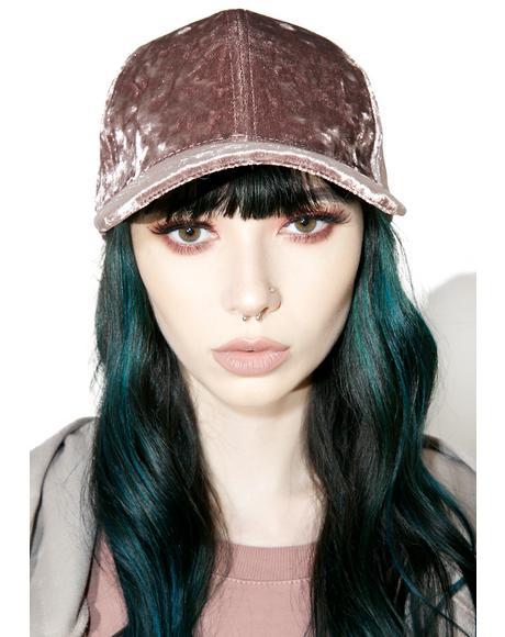 Step Up Crushed Velvet Hat