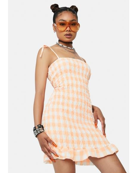 Juicy Good Ideas Gingham Mini Dress