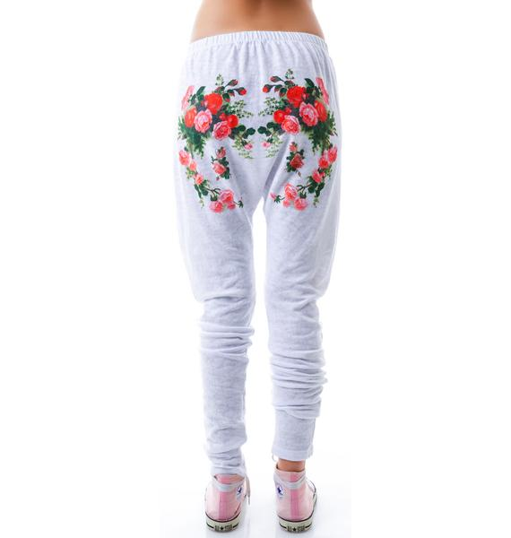 Wildfox Couture Roses Are Red Horse Shoe Sweats
