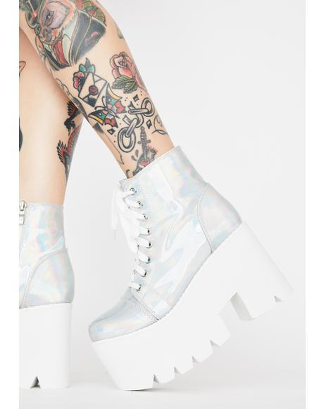 Rave Heart Platform Boots