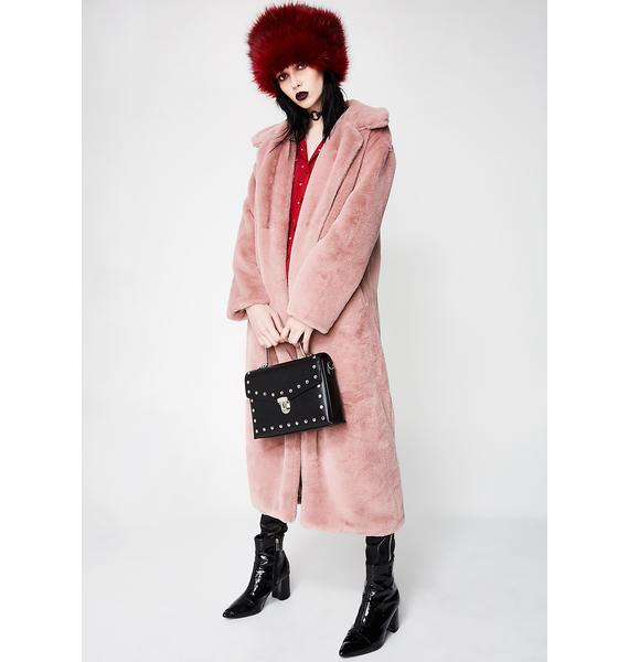 Furry Fun Long Coat