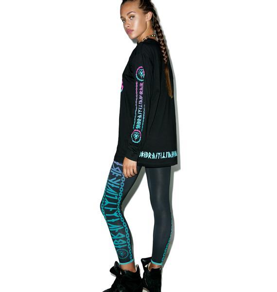 Long Clothing Mishka 2.0 Death Adder Chain Leggings