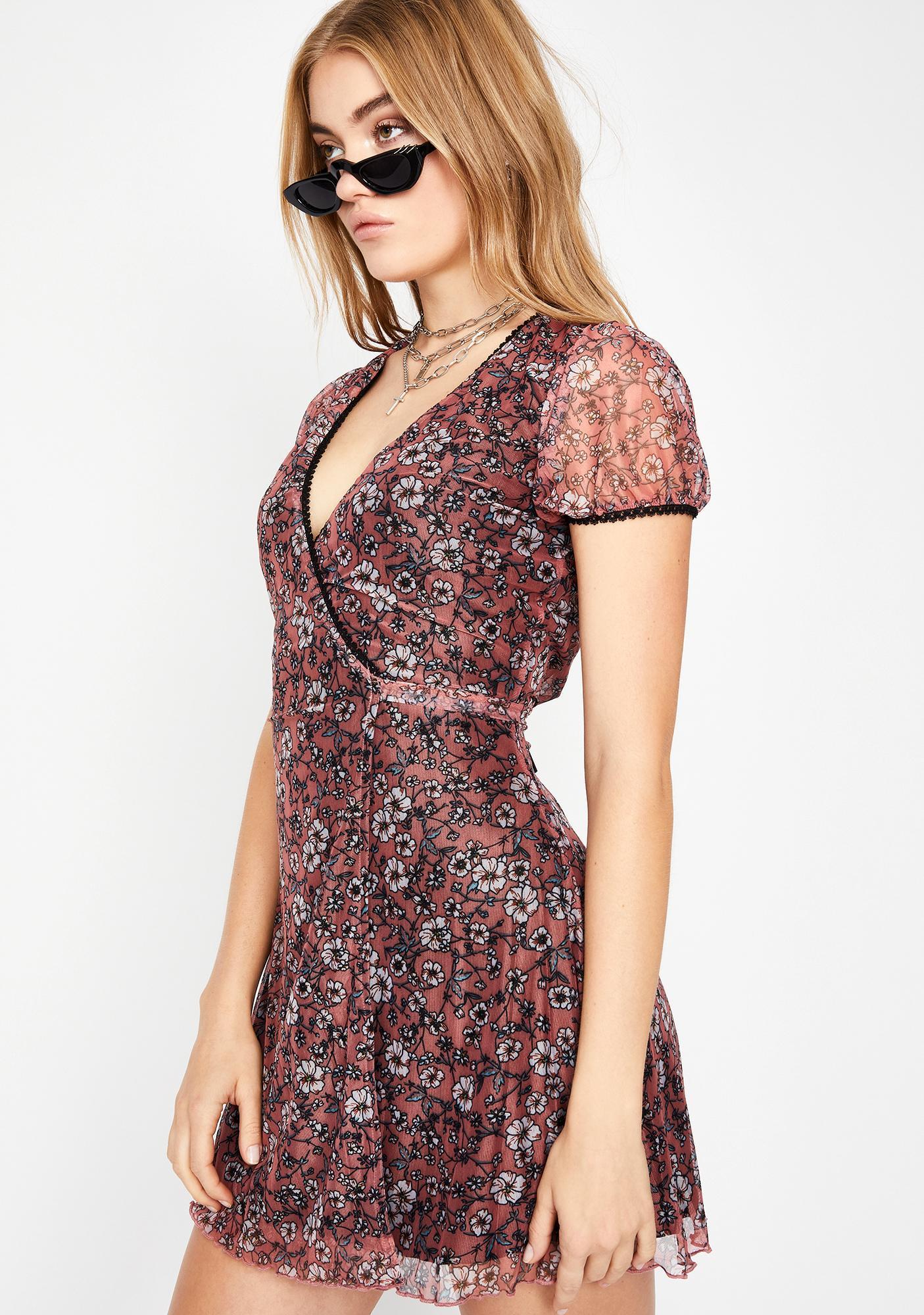 Spring Fling Floral Dress