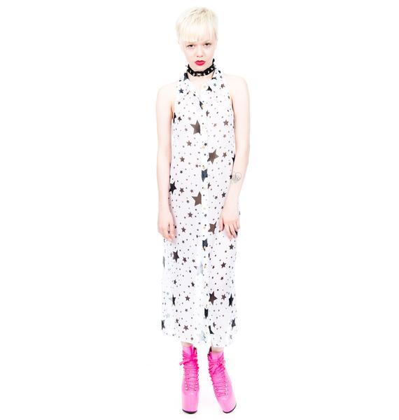 Hendrix Star Print Dress