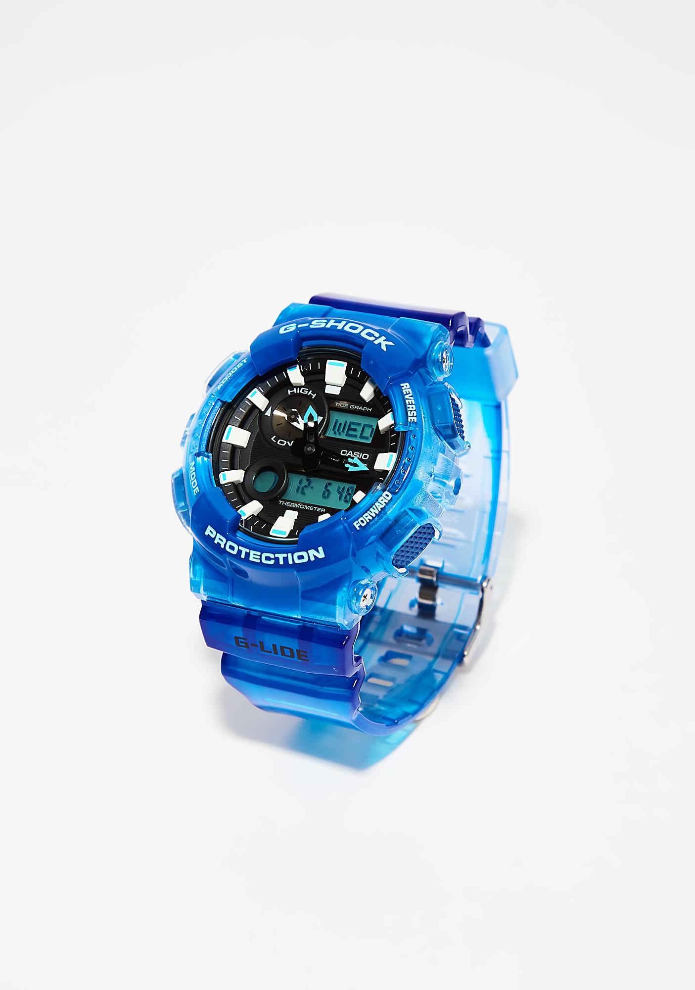 G-Shock Blue Watch