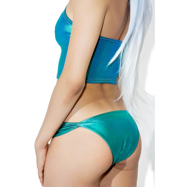 Margarita Mermaid Abalone Bikini Bottoms