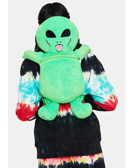 Lord Alien Plush Backpack