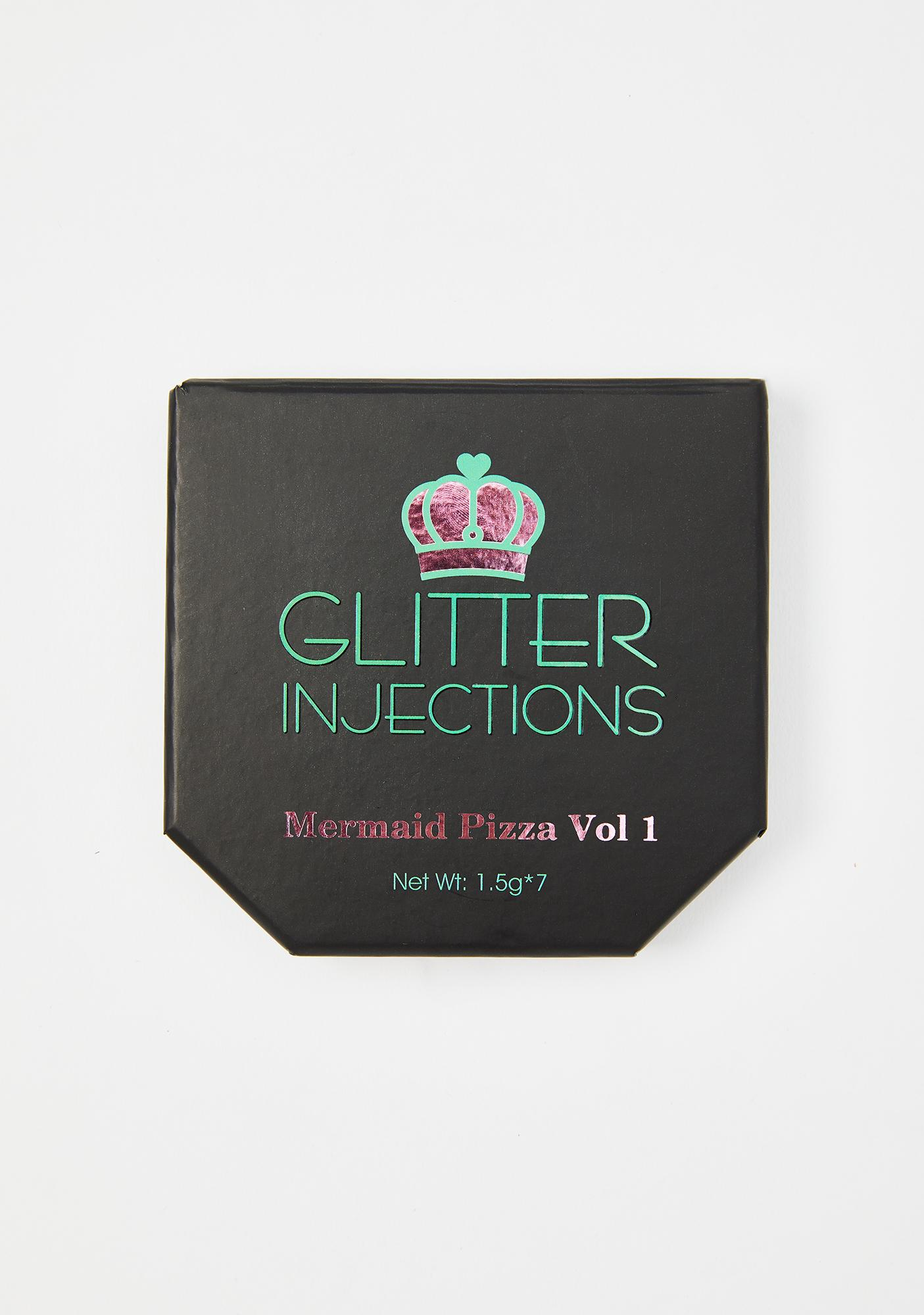 Glitter Disco Child Mermaid Pizza Vol 1 Palette