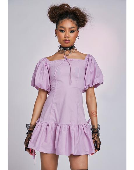 The Opera Puff Sleeve Dress