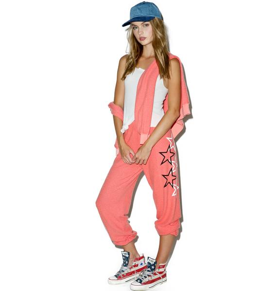 Wildfox Couture Go Team Stars Sweatpants