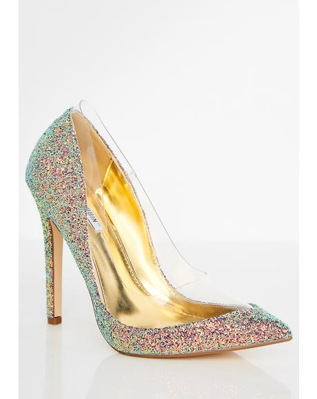 Mermaid Star Of The Show Glitter Pumps