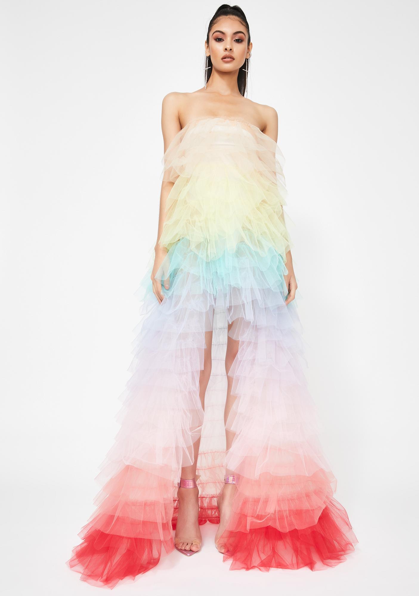 Kiki Riki Epic Luster Ruffle Dress