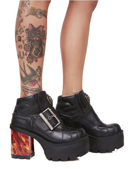 Firewalker Platform Ankle Boots