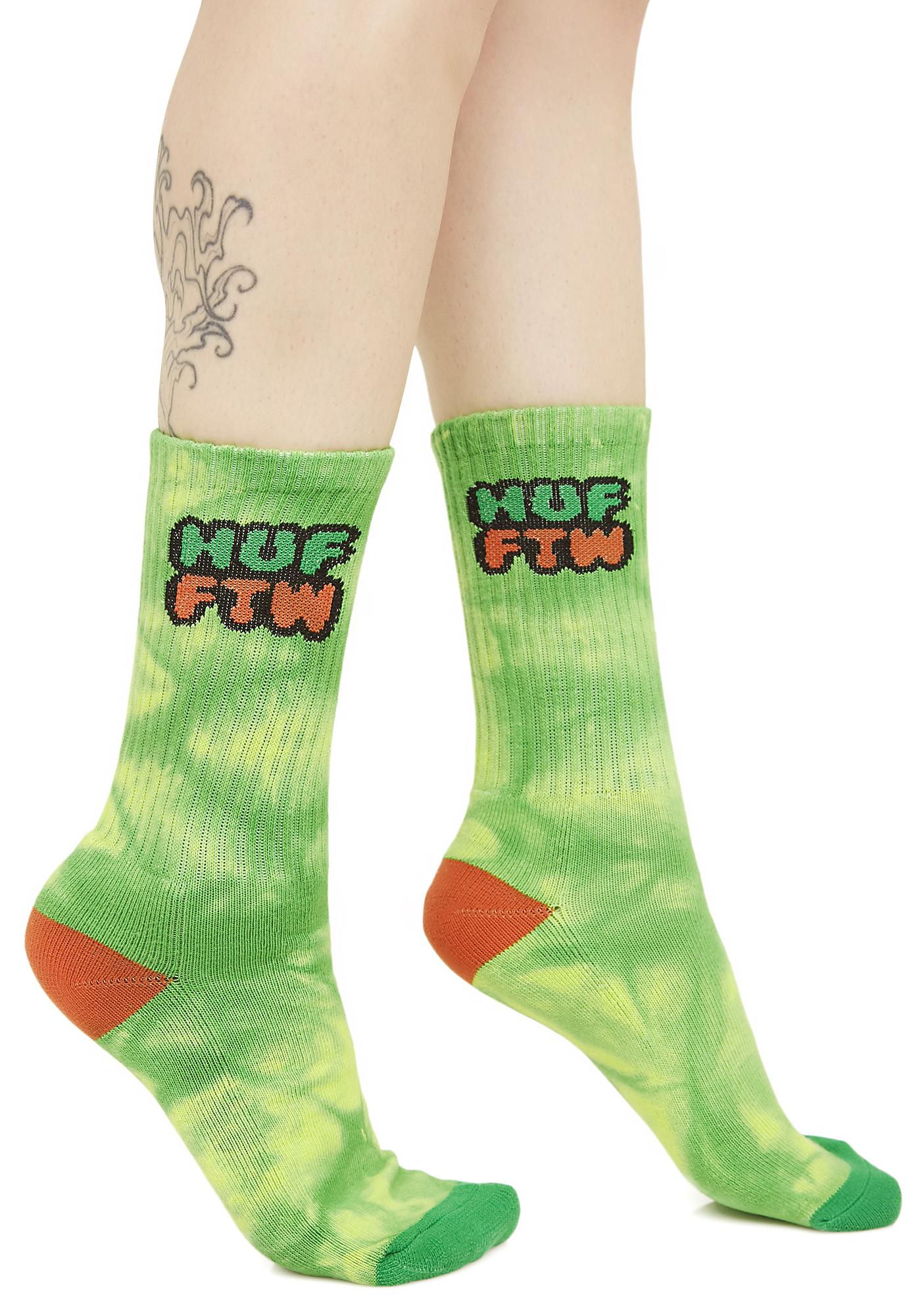 HUF Dirt Bag Crew Socks
