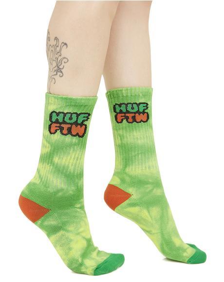 Dirt Bag Crew Socks