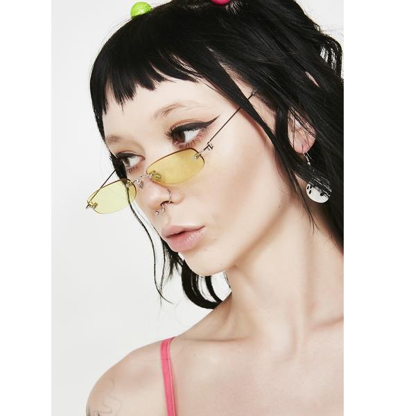 Bodak You Da Boss Tiny Sunglasses