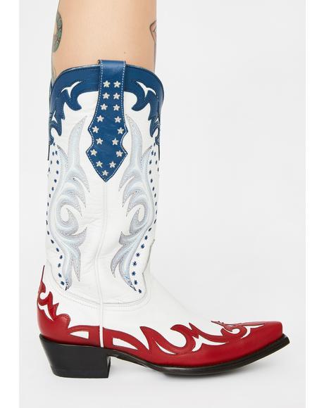 Vencida Cowboy Boots