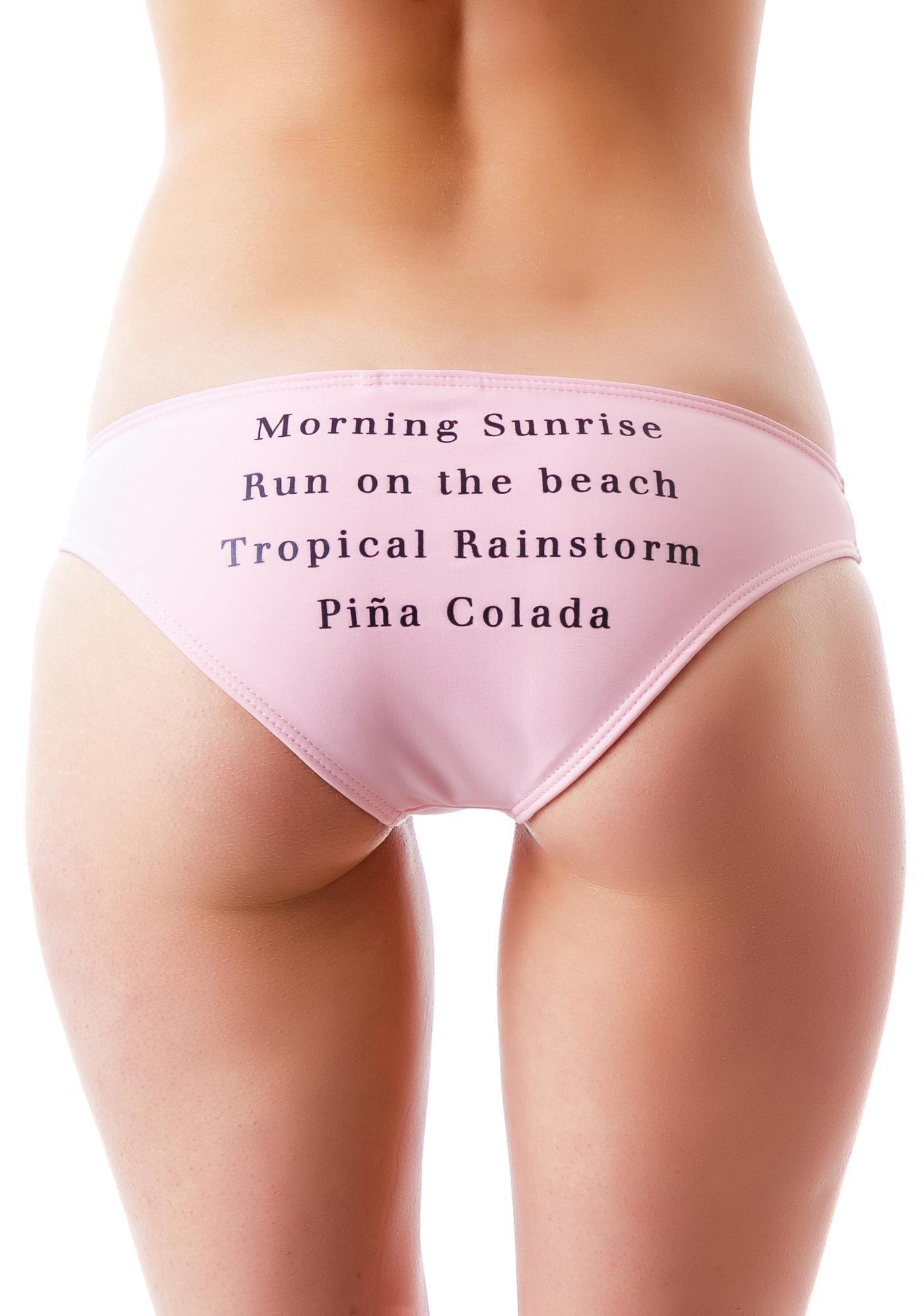 Wildfox Couture Morning Sunrise Bikini Bottom