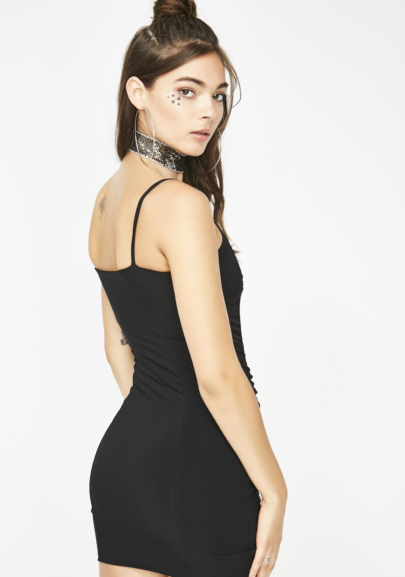 MVP Ruched Mini Dress