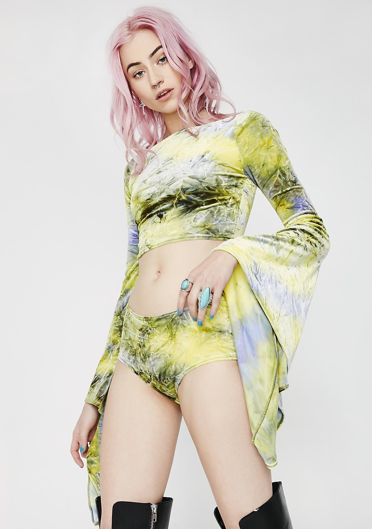 J Valentine Earth Velvet Shorts