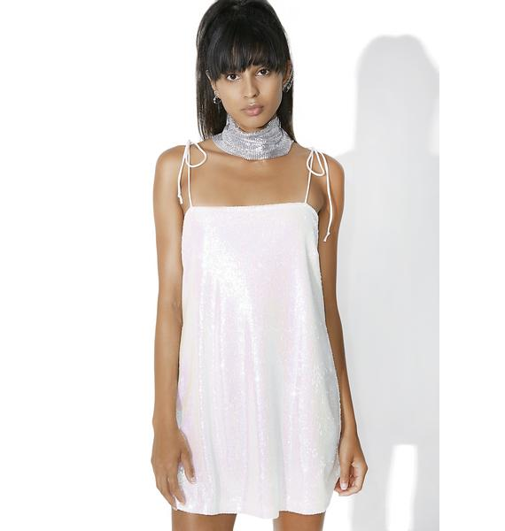 Motel White Pearl Egion Dress