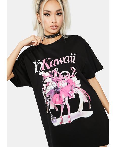 Kawaii T-shirt Dress