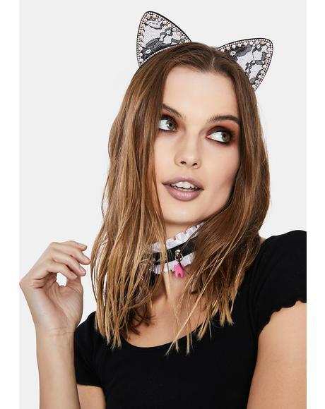 Sassy Cat Ear Headband